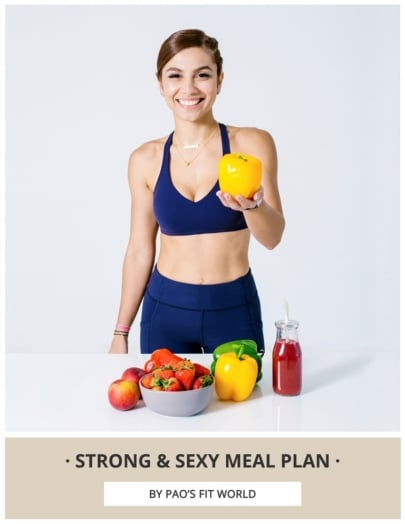 Strong & Sexy Meal Plan Cover