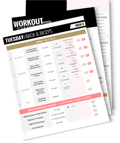 SSBM2 Workout Guide - Routines